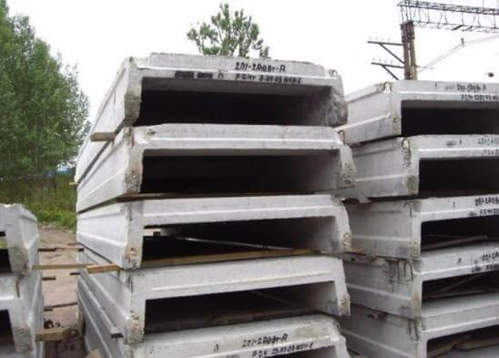 плита бетона