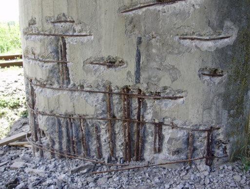 Ремонт железобетонных конструкций стен железобетонные вазоны самара