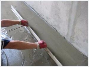 Пол из доски на бетонное основание