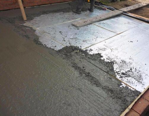 Пенопласт с цементным раствором бетон цена сургут