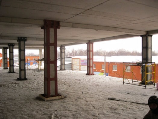 Бетон усиление заказать бетон цена в пензе
