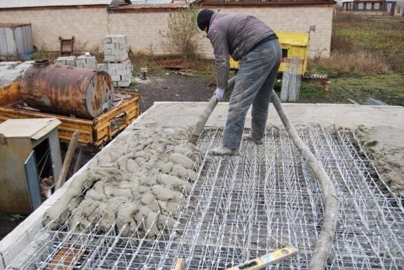 Перекрытие этажа бетоном новосибирск завод по производству бетона