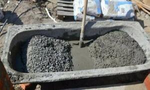 Из чего состоит бетон для фундамента