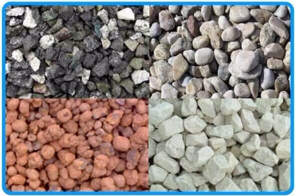 Песок, гравий, щебень - лучшие заполнители для бетонных смесей