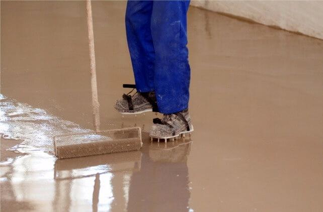 выравнивающая смесь для бетонных поверхностей